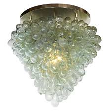 Image Colored Flush Mount grape Cluster Blown Glass Light Fixture For Sale At 1stdibs 1stdibs Flush Mount grape Cluster Blown Glass Light Fixture For Sale At