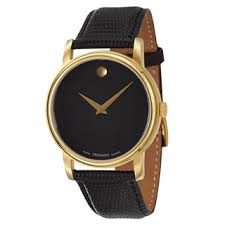 sapphire watches overstock com the best prices on designer mens movado men s 2100005 collection yellow goldplated swiss quartz watch