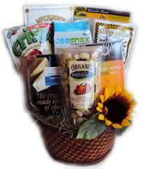 diabetic healthy birthday basket for her diabetic gift baskets