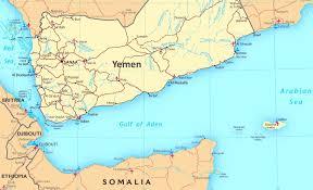 gulf of aden political map