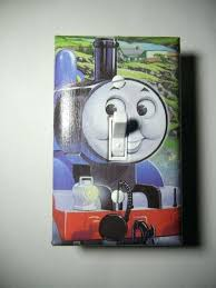 the train bedroom decor light switch cover thomas tank engine accessories uk