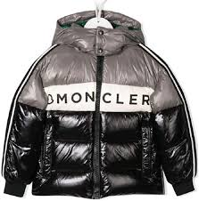 Amazon.com: Moncler Boys Color Block Logo Down Coat Jacket Black (5):  Clothing
