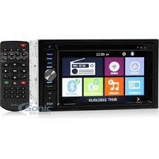 boss bv9384nv double din navigation in dash car stereo w 6 2 boss bv9384nv