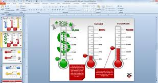 fundraising tracker template fundraising goal chart ideas fundraising charts templates animated
