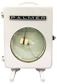 Mercury Instruments Chart Recorders Palmer Temperature And Pressure Circular Chart Recorders