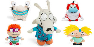 these 90s nickelodeon plushes are a gift from the cartoon s