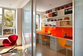 colorful home office. view in gallery colorful home office minimizes clutter