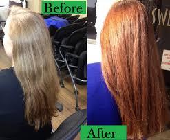 Medium Copper Blonde Hair Color Satisfying