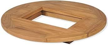 VidaXL <b>Beer Crate teak</b> Tisch 70 cm <b>Beer Crate Table Top</b> Bistro ...
