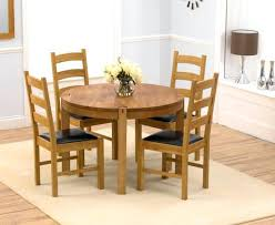oak round dining table for solid oak round dining table 4 leather chairs 37 american oak