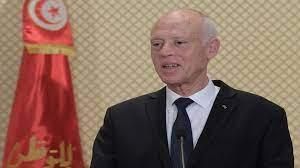 إطلالة قيس سعيّد على التلفزيون التونسي تثير الانتقادات