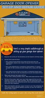 garage door opener troubleshootingGarage Door Opener Troubleshooting Setup to Basic Repair Guide