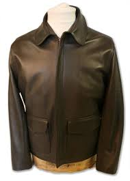 authentic indiana jones raiders of lost ark leather jacket in brown lambskin standard stock size