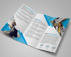 Printable Tri Fold Brochure Template Extraordinary Tri Fold Brochure Template Psd Toddbreda
