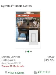 Menards Hue Lights Best Deal I Have Found On These Switches They Also Work
