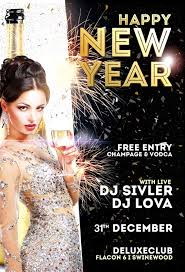 New Year Flyers Template Happy New Year Flyer Template Vol 2 Downloadnow