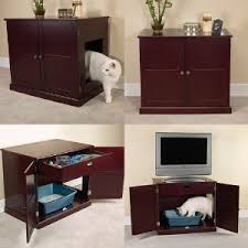 meow town mdf litter box. Amazon.com : Meow Town MDF Litter Box Cat Cabinet, Mahogany Enclosed Pet Supplies Mdf