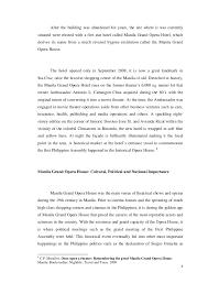 Manila Grand Opera House Historical Research