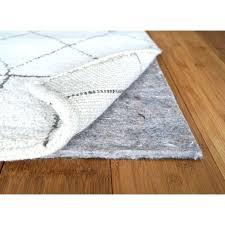 rug pad area cushion pads safe for hardwood floors medium size of