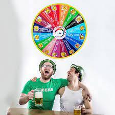 Vòng quay ăn nhậu happy, Vòng quay vui chơi ăn nhậu uống bia dành cho các  buổi tiệc tùng cực vui nhộn