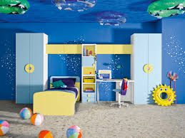 boys blue bedroom. Interior Kids Bedroom Underwater Themed Blue And Yellow Boys Room Haircuts With Lines Of Summer Meaning T