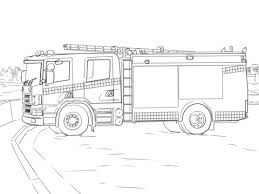 Small Picture Fire Truck coloring page Free Printable Coloring Pages