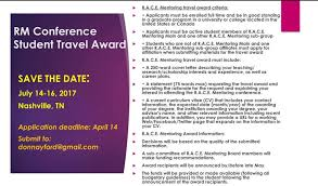student conference form graduate student conference awards r a c e mentoring conference 2017