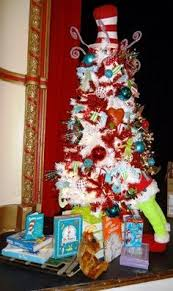 Merry Seussmas: 6.5' Tall with topper Includes $100 of Dr. Seuss Books,   Grinch Christmas DecorationsChristmas Tree ...