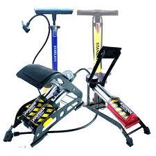 Giá Sốc ] Bơm hơi xe máy mini - Bơm xe máy đạp chân loại tốt -Bảo hành 24  tháng chính hãng 250,000đ