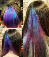 Try Geode Hair Trend For Your Summer