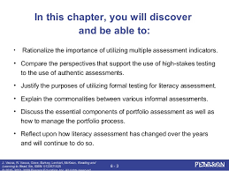 Formal Assessment Custom Reading And Learning To Read Chapter 44