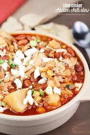 crock pot pinto bean en chili stew