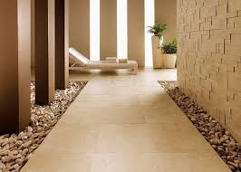 love combining different flooring choices to create more visual interest  ... and avoid grout
