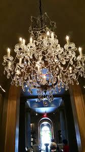the 19th century rococo iron chandelier