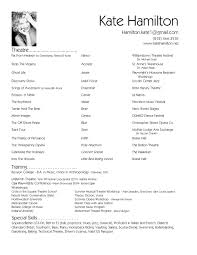 Resume Example Templates For Openoffice Free Download Sample Format