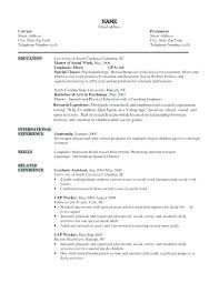 Resume Format For Social Worker New Social Worker Objective Resume Examples Work Objectives For In