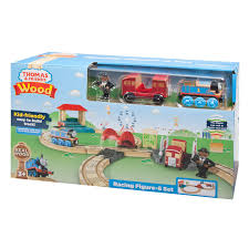 thomas friends wood racing figure 8 set