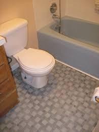 Bathroom Classic White Square Bathroom Floor Tiles With Pedestal - Installing bathroom floor