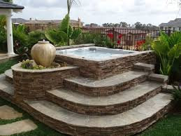 Landscaping Idea! Putting in the whirlpool. Hot Tubs ...