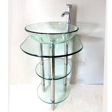 Glass Bathroom Cabinets Bathroom Pedestal Sink Storage Cabinet Bathroom Bathroom Cabinets