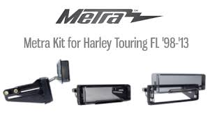 scosche introduces new installation kit for harley davidson Metra Wiring Harness For Harley Davidson metra intros new dash kit for harley touring fl models 1998 2013 Harley-Davidson Wiring Harness Diagram