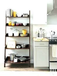 kitchen counter shelf storage freestanding shelves free standing count