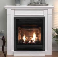 empire vail 24 fireplace with mantel
