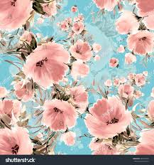 Seamless pattern delicate bouquet of beautiful flowers Q . Beautiful  pattern for decoration and design.