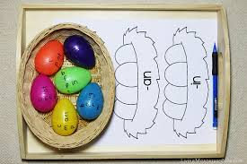 word easter egg 20 easter phonics activities living montessori now