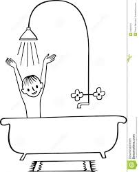 shower clipart bathtub pencil and in color shower clipart bathtub with elegant of bath clipart