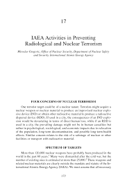 iaea activities in preventing radiological and nuclear page 173
