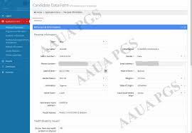 adekunle ajasin university akungba akoko postgraduate portal application form filling
