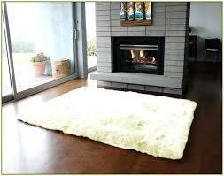 4x6 white rug white sheepskin rug home design ideas sheepskin rug 4x6 black and white striped