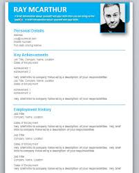 Free Downloadable Resume Templates For Microsoft Spectacular Free